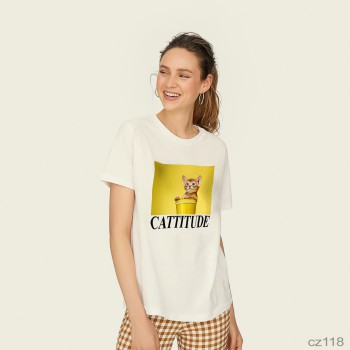 Cattutide White t-shirt