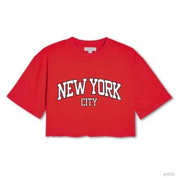 New york city CropTop