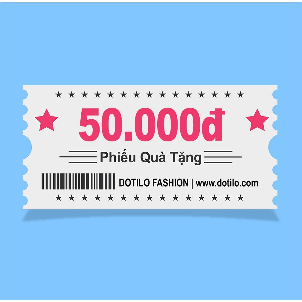 Phiếu quà tặng  50,000đ