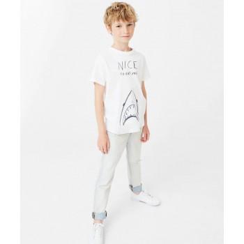 Nice Shark - White