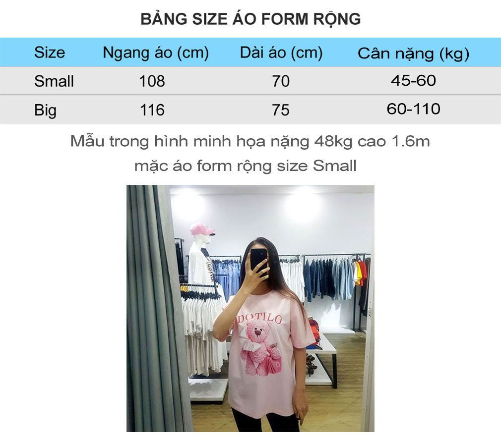 bang size ao